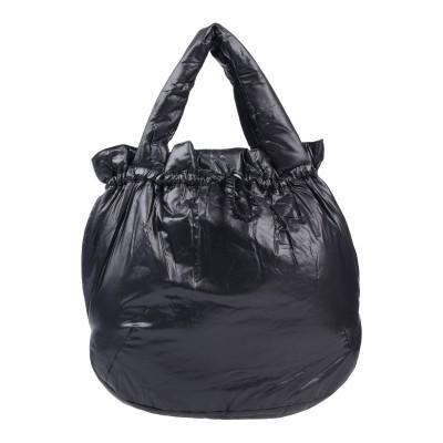 ERMANNO DI ERMANNO SCERVINO ハンドバッグ ブラック 紡績繊維 ハンドバッグ