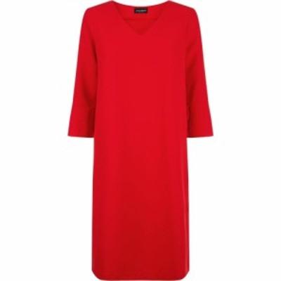 ジュームズ レイクランド James Lakeland レディース ワンピース ワンピース・ドレス Ruffle Cuff Dress Navy