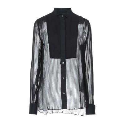 サカイ SACAI シャツ ブラック 4 ポリエステル 100% / コットン シャツ
