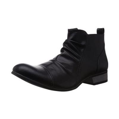 [デデス] ブーツ 5156 メンズ (ブラック 25.0 cm)
