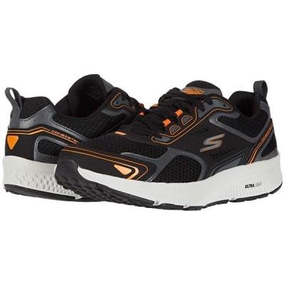 スケッチャーズ Go Run Consistent メンズ スニーカー 靴 シューズ Black/Orange