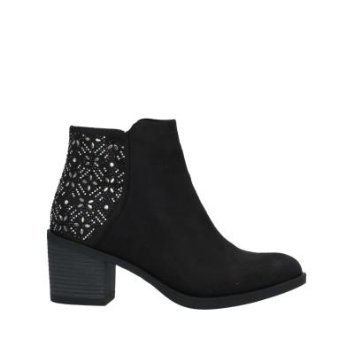 MARIA MARE ショートブーツ ブラック 40 紡績繊維 ショートブーツ