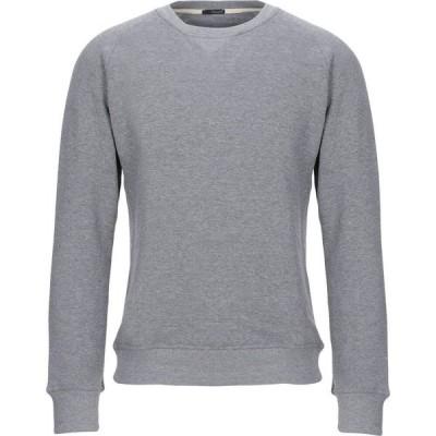 プラスピープル (+) PEOPLE メンズ スウェット・トレーナー トップス sweatshirt Grey