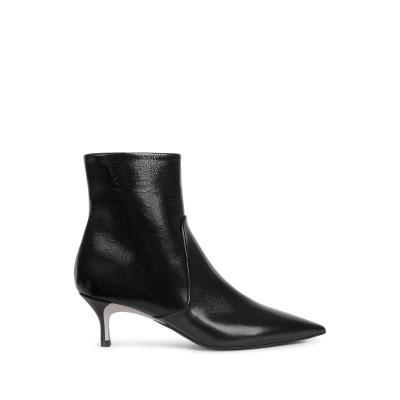フルラ FURLA ショートブーツ ブラック 40.5 革 100% ショートブーツ