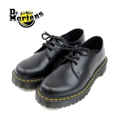 【Dr.Martens ドクターマーチン】1461 BEX 3EYELET SHOE (21084001) ブラック 3ホールブーツ ブラック メンズシューズ 革靴 レザーシューズ