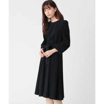 ワンピース スウェードタッチジャージドレス
