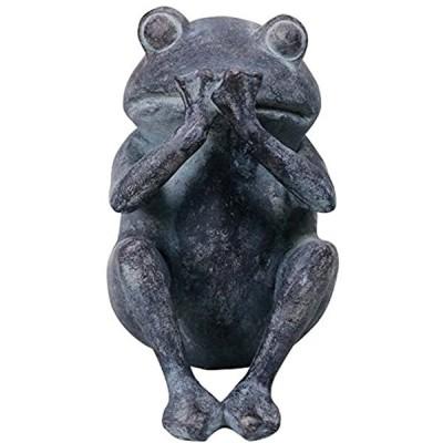 動物オーナメント いわざる かえる 11052(ブルー)
