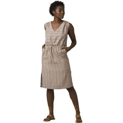 プラーナ Prana レディース ワンピース ワンピース・ドレス Ecotropics Dress Copper Stripe