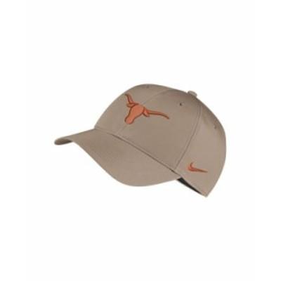 ナイキ メンズ 帽子 アクセサリー Texas Longhorns Dri-Fit Adjustable Cap Khaki
