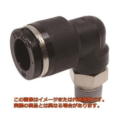 ピスコ チューブフィッティング エルボ 適合外径10mm 接続口径R1/8 PL1001