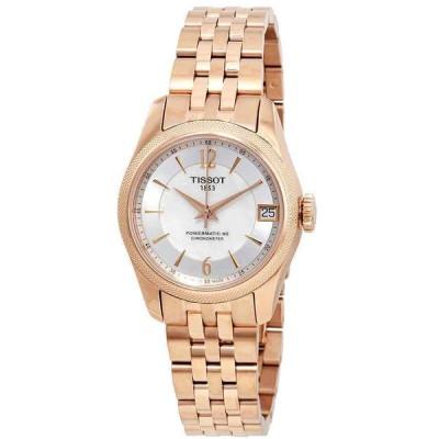 ティソ 腕時計 Tissot T-Classic ティークラシック Ballade Automatic Chronometer White ホワイト MOP Dial Ladies Watch