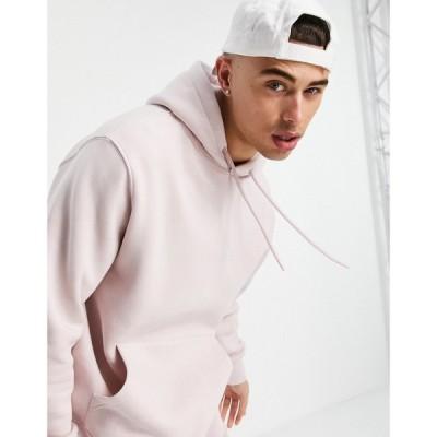トップマン Topman メンズ パーカー トップス hoodie in pink ピンク