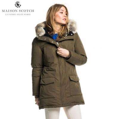 メゾンスコッチ ジャケット レディース 正規販売店 MAISON SCOTCH アウター ジャケット Long boa jacket 101893 15 D00S20