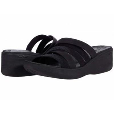 SKECHERS スケッチャーズ レディース 女性用 シューズ 靴 ヒール Pier-Lite Black/Black【送料無料】
