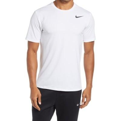 ナイキ NIKE メンズ フィットネス・トレーニング ドライフィット Tシャツ トップス Dri-FIT Static Training T-Shirt White/Black