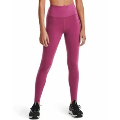 アンダーアーマー レディース カジュアルパンツ ボトムス Women's Meridian Leggings Pink Quartz