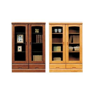 書棚 チェスト 幅80cm 奥行40cm 高さ120cm 国産 完成品 収納 ミドルボード 代引不可