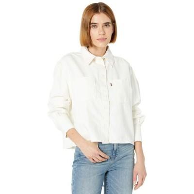 リーバイス レディース シャツ トップス Zoey Pleat Utility Shirt