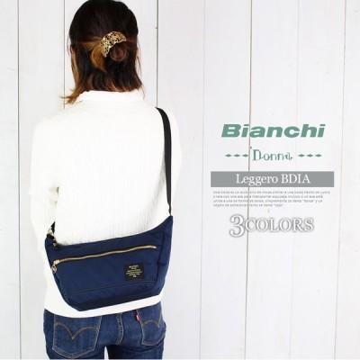 Bianchi Donna 撥水 ビアンキ ドンナ ショルダーバッグ 斜めがけバッグ ミニショルダー 旅行 トラベル 通学 遠足 自転車 送料無料