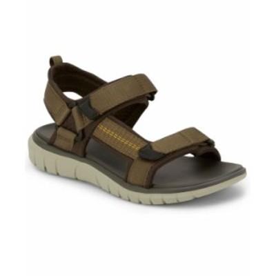 ドッカーズ メンズ サンダル シューズ Men's Soren Sport Trekking Sandals Olive