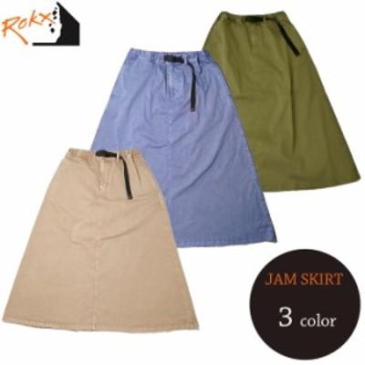 ロックス ジャム スカート ロング レディース 送料無料 ROKX JAM SKIRT 21SS