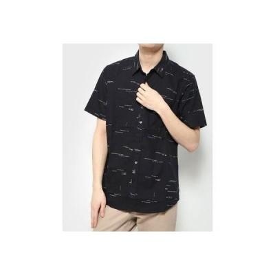 デシグアル Desigual シャツ半袖 EMORY (グレー/ブラック)