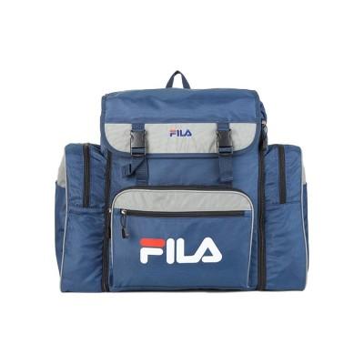 【カバンのセレクション】 フィラ リュック サブリュック 43L~54L FILA 7369 林間学校 臨海学校 修学旅行 ユニセックス ネイビー フリー Bag&Luggage SELECTION