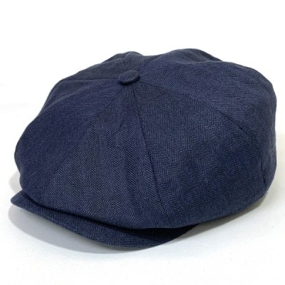 MOSSANT モサントハンチング MI273 キャスケット 八方 紳士 帽子 父の日ギフト プレゼント 日本製 ネイビー系