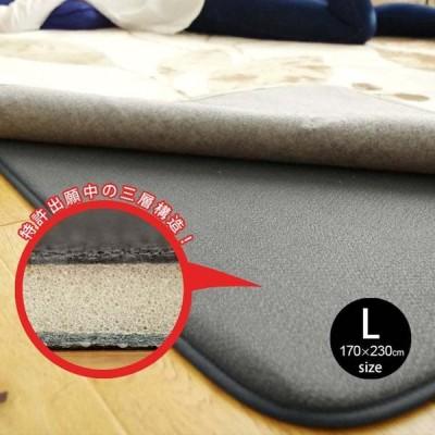 ラグ専用下敷き ふかピタ Lサイズ 170×230cm スミノエ SUMINOE