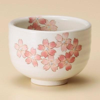 (業務用・抹茶碗)うたげ桜野点碗[44323-578](入数:1)