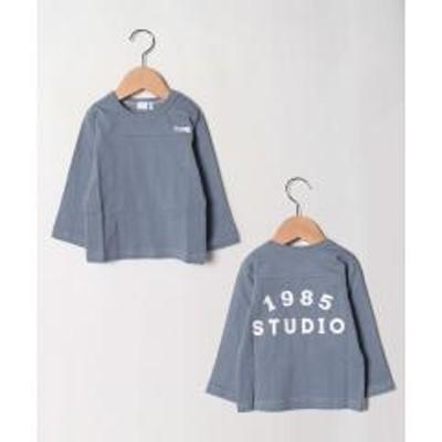 b・ROOM(ビールーム)ロゴプリントTシャツ