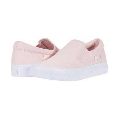 DC ディーシー レディース 女性用 シューズ 靴 スニーカー 運動靴 Trase Slip-On - Light Pink