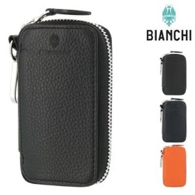 【レビューを書いてポイント+5%】ビアンキ キーケース ラウンドファスナー デフィー メンズ BIC1008 Bianchi   牛革 本革 レザー