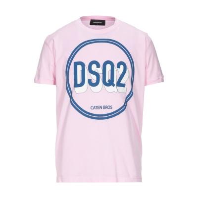 ディースクエアード DSQUARED2 T シャツ ピンク S コットン 100% T シャツ