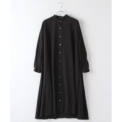 MARcourt/マーコート flared shirt OP black FREE