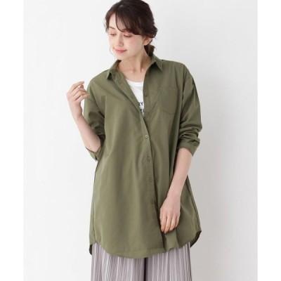 SHOO・LA・RUE / シューラルー 【2点セット】ロングシャツ+ロゴTシャツ