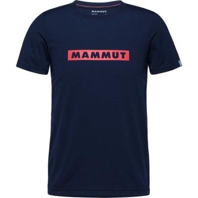 MAMMUT マムート QD Logo Print T−Shirt AF Men Tシャツ メンズ 男性 半袖 101702011 MARINE_PRT2