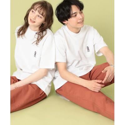 【コーエン】 MEI(メイ)別注ポケットTシャツ(一部WEB限定カラー) ユニセックス ホワイト SMALL coen