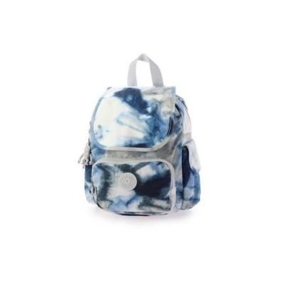 キプリング Kipling CITY PACK MINI (Tie Dye Blue)