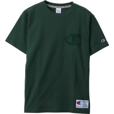 チャンピオン Tシャツ(ダークグリーン・サイズ:M) Champion T-SHIRT アクションスタイル メンズ/ ユニ CH-C3-M358-570-M 返品種別A