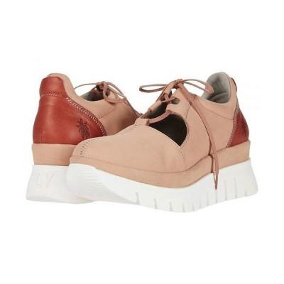 FLY LONDON フライロンドン レディース 女性用 シューズ 靴 スニーカー 運動靴 BUMP129FLY - Nude Pink/Red Cupido/Janeda