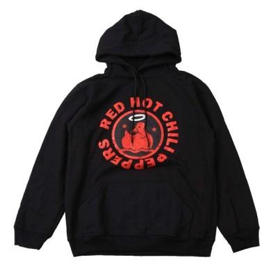 パーカー スウェットパーカ バンド ロック (AG) レッドホットチリペッパーズ/レッチリ RED HOT CHILI PEPPERS 1 BLK PARKA 黒