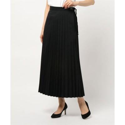 スカート 【CAMP7】プリーツロングスカート