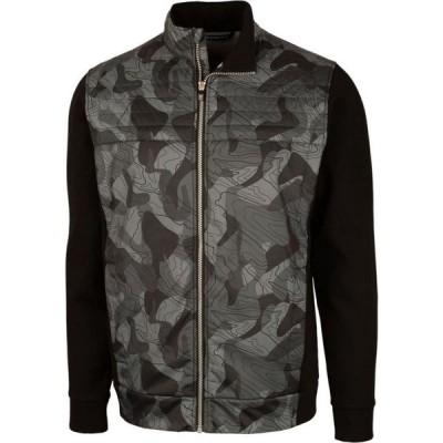 カッター&バック Cutter & Buck メンズ ジャケット 大きいサイズ アウター Big and Tall Discovery Windblock Jacket Black