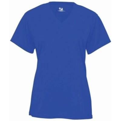 スポーツ用品 ベースボール Badger Girls B-Core V-Neck Shirt