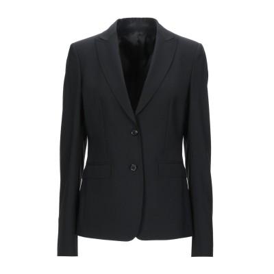 マウロ グリフォーニ MAURO GRIFONI テーラードジャケット ブラック 46 ウール 98% / ポリウレタン 2% テーラードジャケット