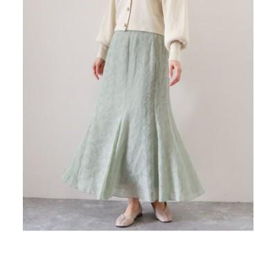 ドビーマーメイドスカート