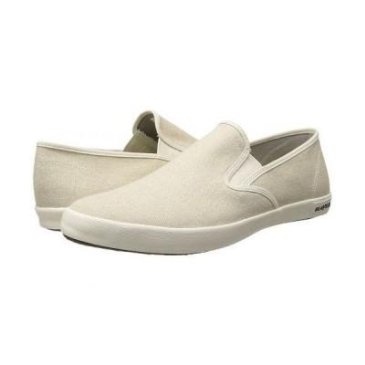 SeaVees シービーズ メンズ 男性用 シューズ 靴 スニーカー 運動靴 Baja Slip On Classic - Natural