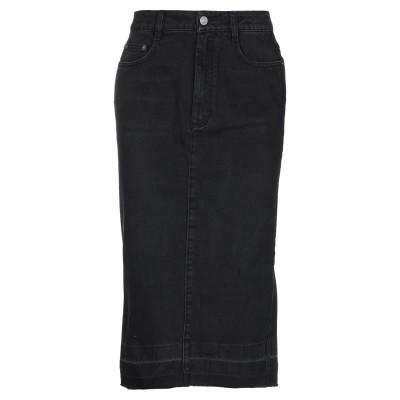 ジバンシィ GIVENCHY デニムスカート ブラック 38 ポリエステル 65% / コットン 35% デニムスカート