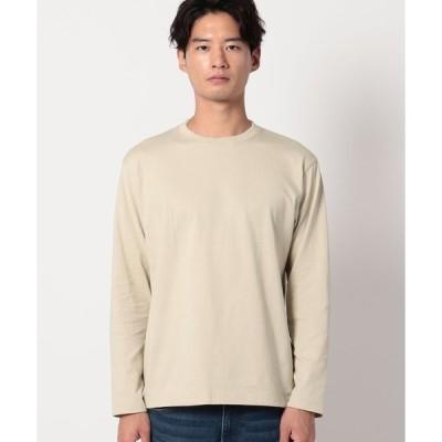 THE SHOP TK(Men)(ザ ショップ ティーケー(メンズ))コットン(綿)長袖Tシャツ